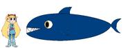 Star meets Mako Shark