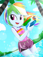 Summer Fun with Rainbow Dash