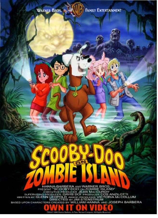 Krypto Doo on Zombie Island