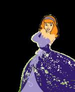 Daphne Blake dressed as princess(2)