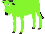 Grassy the Dipsy Green Wildebeest