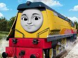 Rebecca the Happy Engine