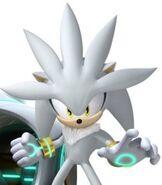 Silver the Hedgehog in Team Sonic Racing