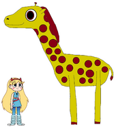 Star meets Giraffe