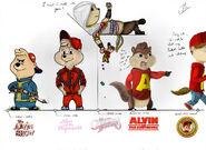 ''Me, Rockin' the ages!'' - Alvin