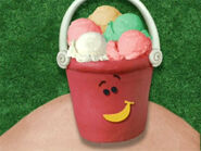 Blue's Clues Pail with Ice Cream