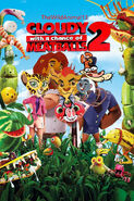 Cloudy with a Chance of Meatballs (TheWildAnimal13 Animal Style) 2 Poster