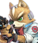 Fox McCloud in Super Smash Bros. Ultimate