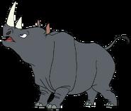 Jay Spacebot rhino form thelionking in thespacebotsadventuresseries