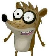 Rigby in Cartoon Network Universe - FusionFall