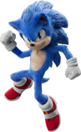 SonicMovie Sonic Mighty Pose