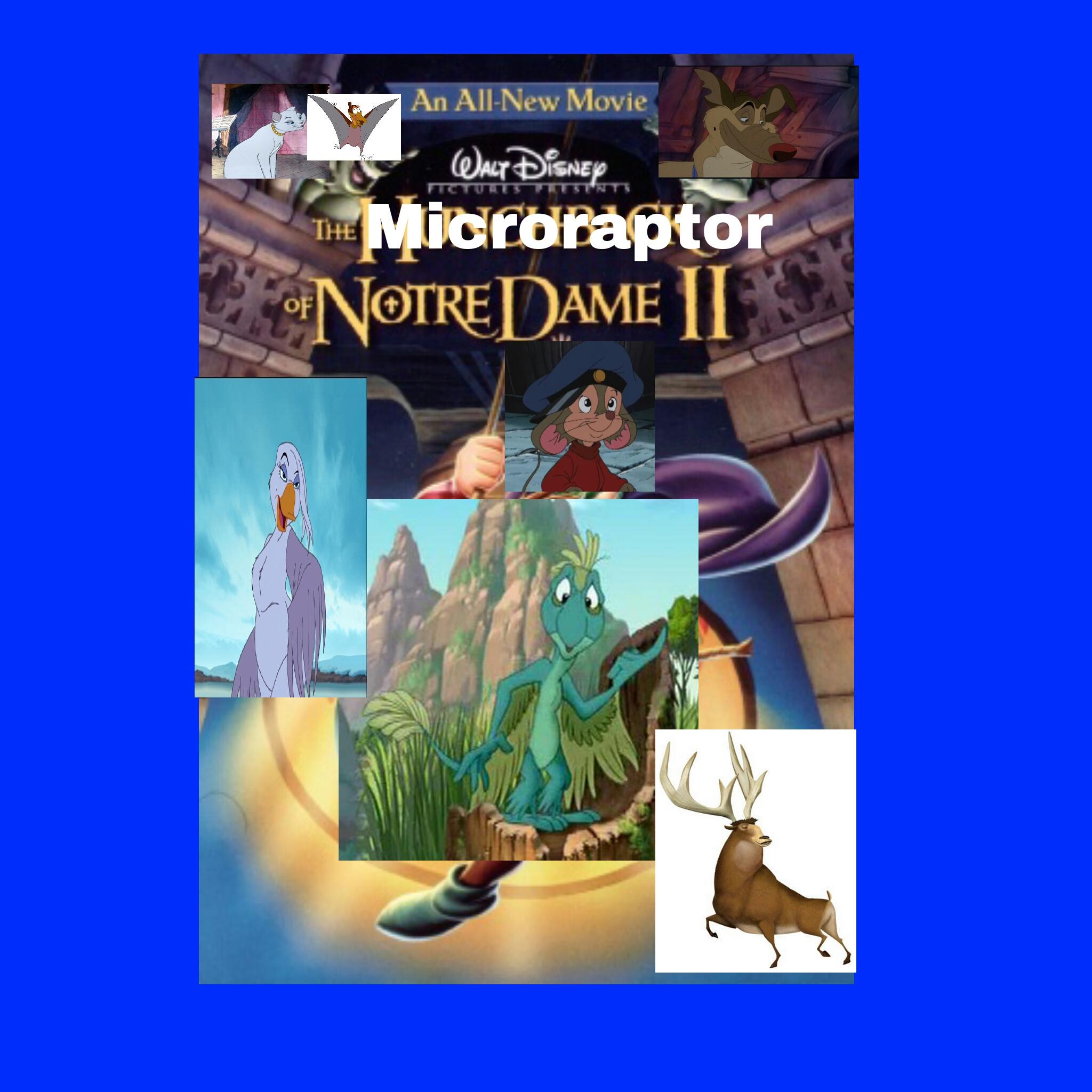 The Microraptor of Notre Dame 2