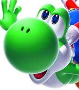 Yoshi in Super Mario Galaxy 2