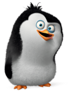 Young rico penguins of madagascar movie