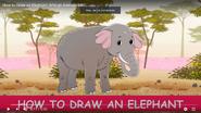 African Animals ABC Elephant