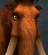 Manny in Ice Age - Dawn of the Dinosaurs (Video Game)
