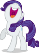 Mlp fim rarity singing vector by luckreza8 d9q44pk-pre