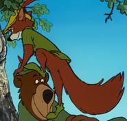 Robin hood climbing up 3