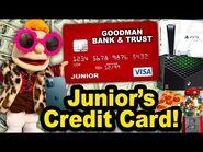 SML Movie- Junior's Credit Card!