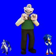Sonic, Kaito and Wallace