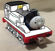 Take Along and Take 'n' Play Thomas (Ghost Form) (Flour Power) (with Surprised Face)