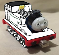 Take Along and Take 'n' Play Thomas (Ghost Form) (Flour Power) (with Surprised Face).png