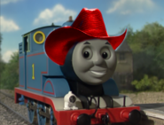 Thomas with cowboy hat 8