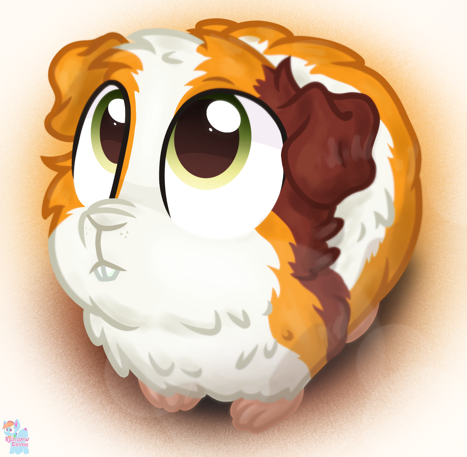 Amazing Guinea Pig Animals by Rainbow Eevee.png