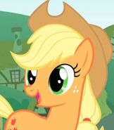 Applejack in My Little Pony- Friendship is Magic