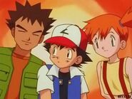 Ash Ketchum, Misty, and Brock