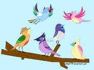 Avian 6 by EmberTheFireBurd