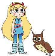 Star meets Long-Eared Owl