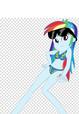 Bikini Rainbow Dash