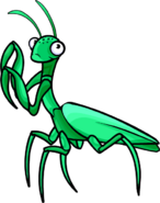 Club Penguin Praying Mantis