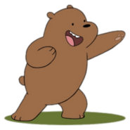 Grizz the Grizzly Bear