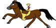Mickey meets domestic horse