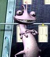 Randall Boggs in Monsters, Inc. Scream Team Training