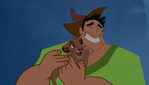 We're Back! A Human's Story (CoolZDanethe5th)- Simba (Louie) and Pacha (Rex)