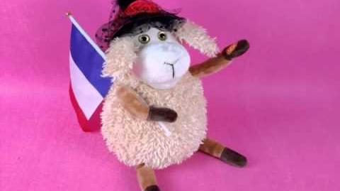 Singing and dancing musical toy LA MARSEILLAISE SHEEP (S 002)