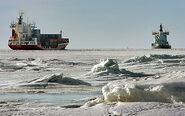 Strait of Trigunia Frozen