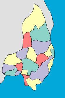 Location of Suyu Llaqta