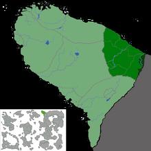 Location of Rowiet Kazulia, KACCR