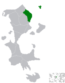 Location of Kalistan