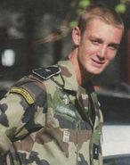 Nicola I of Istalia young military service