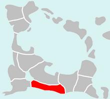 Location of Jakania