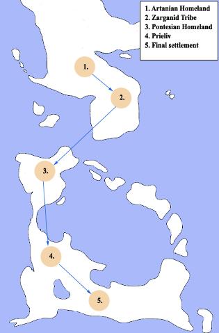 Deltarian Migrations