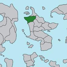 Location of Aloria