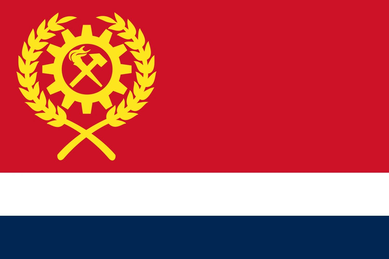 The Flag of the Union Communale d'Aldurie (Alduria)