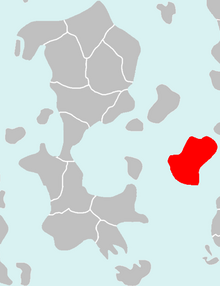 Location of Indrala