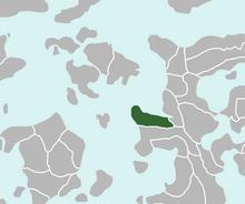 Location of Lourenne
